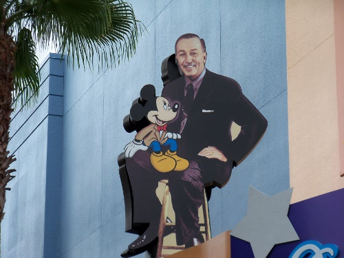 Walt and Mickey
