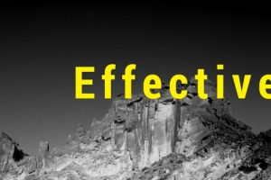 Effective – My One Word for 2018