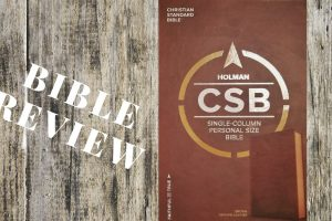 Christian Standard Bible Single Column Personal Size Bible: A Review